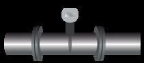 Flowmeter - intrusive